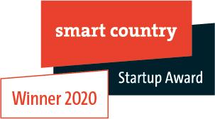 Wir sind Gewinner des Smart Country Startup Awards