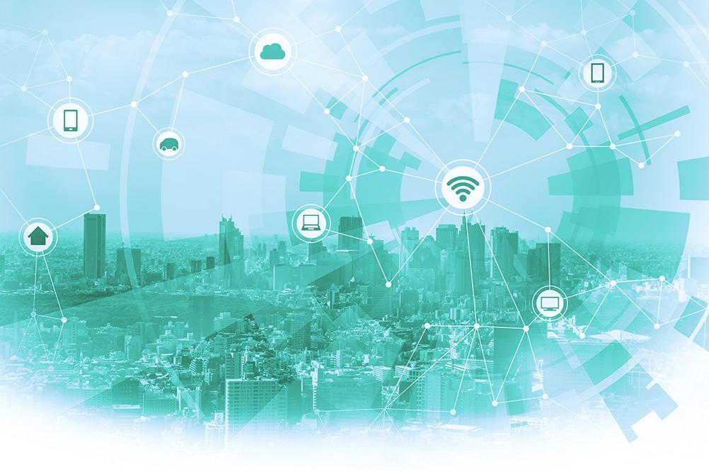 Digitalisierung der Stadt