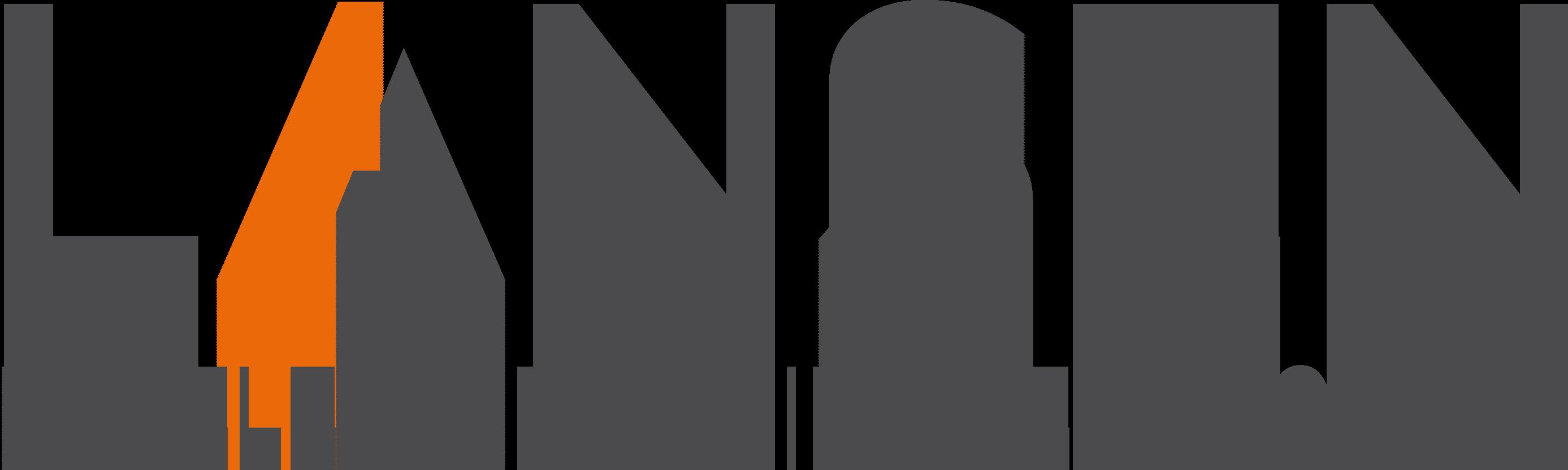 Logo Lansen mit Slogan