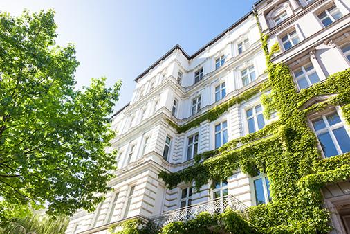 Der Gebäudesektor steht neben der Industrie und Mobilität im Fokus des European Green Deal.