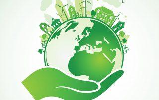 Planet schützen, nachhaltige Stadt | Symbolbild